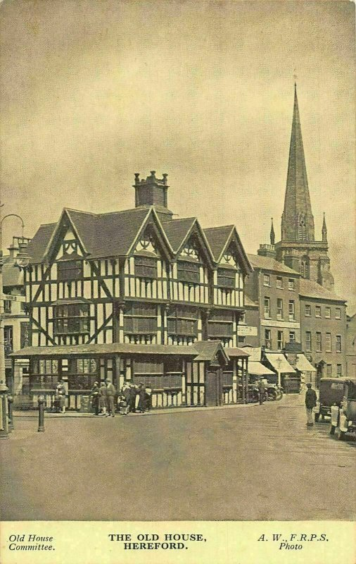 The Old House Hereford Postcard