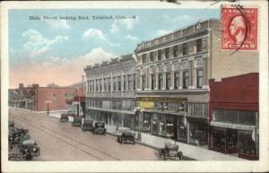 Trinidad CO Main St. East c1920 Postcard