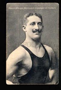 047183 WRESTLING Famous wrestler Heinrich Mitteregge