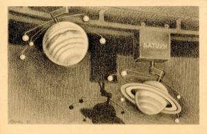 NY - New York City. Hayden Planetarium, Interior   (Astronomy)