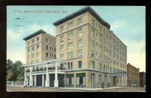 dc04 - LITTLE ROCK Ark 1912 Marion Hotel
