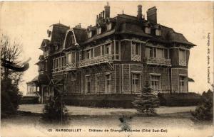 CPA RAMBOUILLET - Chateau de Grange-COLOMBE (Cote Sud-Est) (453168)
