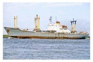 mc4292 - East German Cargo Ship - Lieselotte Herrmann , built 1965 - photo 6x4