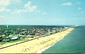 Delaware Rehoboth Beach Helicopter View Looking North