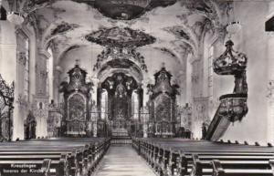 Switzerland Kreuzlingen Inneres der Kirche Photo