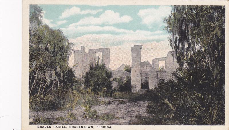 Braden Castle, Brandentown, Florida, 1900-1910s
