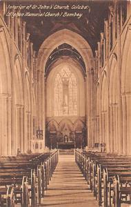 Colaba India Interior of St John's Church Colaba Interior of St John's Church