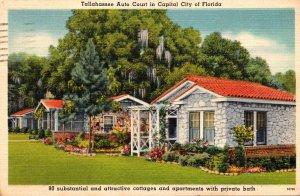 Florida Tallahassee Auto Court 1946