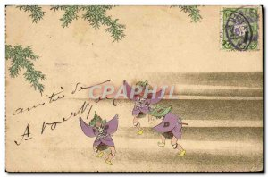 Old Postcard Japan Nippon Folklore Dance