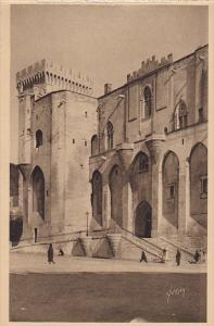 France Avignon L'Entree principale du Palais des Papes