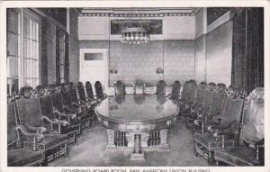 Washington D C Governing Board Room Pan American Union Building