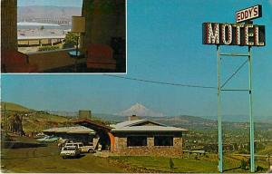 Eddy's Motel S.E. Frontage RD The Dalles Oregon OR Postcard