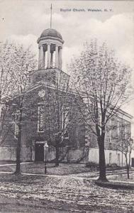 Baptist Church - Webster NY, New York Near Rochester - pm 1910 - DB