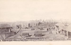 Paddington Railroad Station in 1838 ; 00-10s ; TUCK