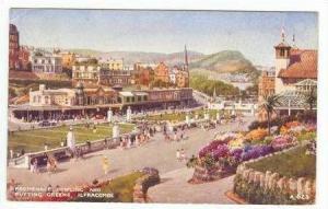 ILFRACOMBE, Devon, UK, PU-1946  Promenade, Bowling and Golf Putting Greens