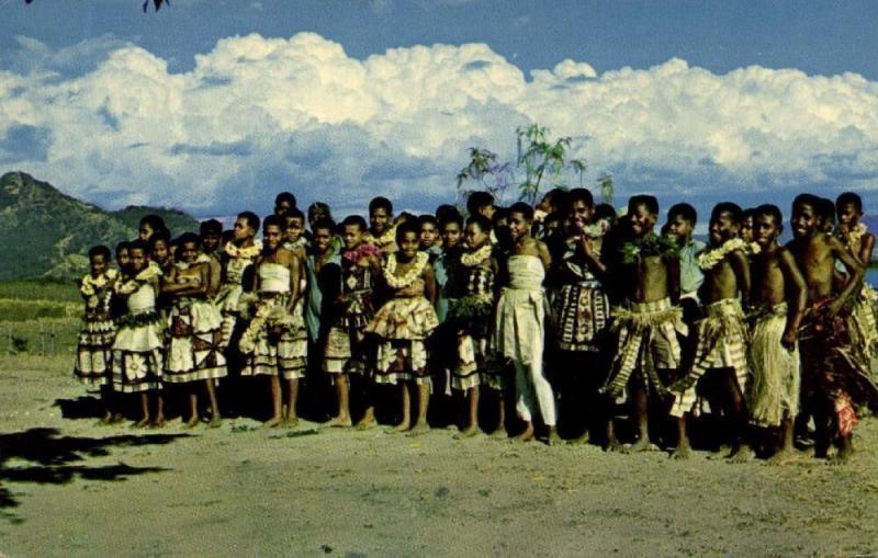fiji islands, Fijian Children's Choir (1960s)