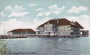 The Yacht Club House - Onondaga Lake - Syracuse NY, New York - DB