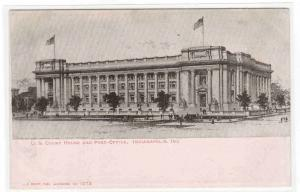 Court House Post Office Indianapolis Indiana 1905c postcard