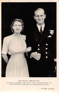 The Royal Betrothal, Princess Elizabeth and Lieut, Philip Mountbatten Buckingham