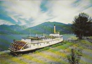 Canada British Columbia Kaslo Sternwheeler S S Moyie