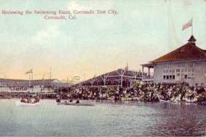 CORONADO, CA TENT CITY REVIEW OF SWIMMING RACES