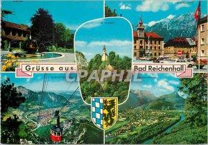 Postcard Modern Mauritius Pamplemousses Botanical Garden