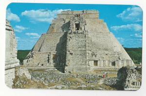 Mexico Temple of the Magician Templo del Adivino Uxmal