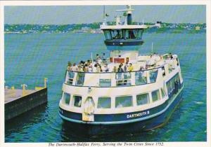 Canada Halifax The Dartmouth-Halifax Ferry Oldest Salt Water Ferry Service In...