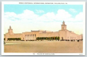 Philadelphia Pa~Sesqui-Centennial Int'l Expo~Palace of Agriculture~1926 Postcard