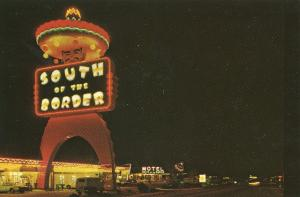 South Of The Border Pedro Sombrero Tower NC SC