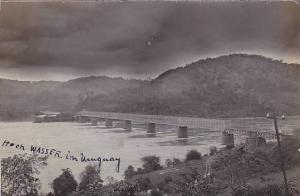 RP: Bridge , Hoch Wasser im Uruguay , 1910s