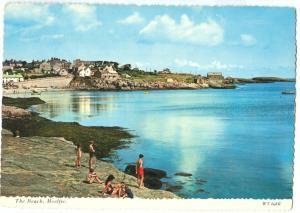 UK, The Beach, Moelfre, unused Postcard
