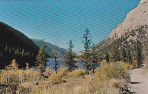 PAVILION LAKE, British Columbia, Canada, 40-60's