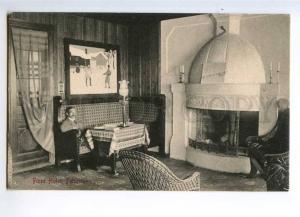 235410 NORWAY FINSE Hotel Peisestuen Vintage postcard