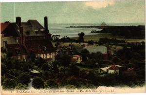CPA AVRANCHES - La Baie du Mont-St-MICHEL. vue de la Plate-forme (149272)