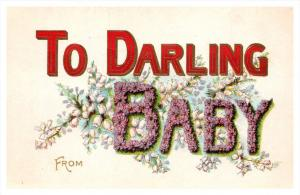 12903  To Darling Baby