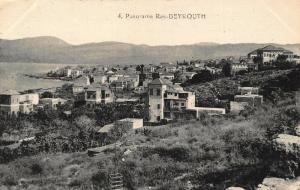 Lebanon Panorama Ras Beyrouth General view Postcard