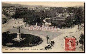 Old Postcard Dijon Vue Generale Du Parc Darcy