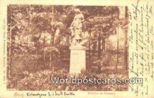 Waldlilie im Stadtpark Braz Austria Writing On Front, Postal Used Unknown