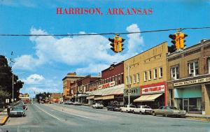 Harrison Arkansas~Vine Street~Walters Dry Goods Store~Ben Franklin~1960-70 Cars