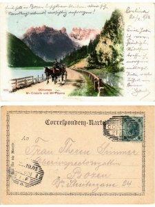 CPA Durrensee - Mte Cristallo e Mte Popena. ITALY (395071)