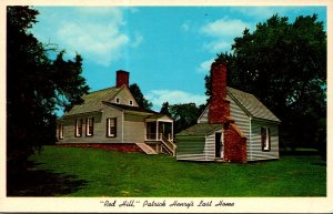 Virginia Brookneal Red Hill Last Home and Burial Place Of Patrick...