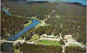 Pond's Lodge Idaho ID Aerial View Unused Vintage Postcard F38