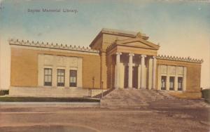 Rhode Island Pawtucket Sayles Memorial Library