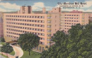 WASHINGTON D.C., 1955s ; Meridian Hill Hotel