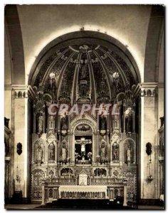 Postcard Modern Buga Basilica of NS de los Milagros El altar