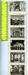 242728 UKRAINE KHARKIV Railway Station 1953 year Set 8 photos