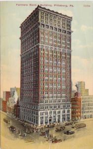 Pennsylvania Pittsburg Farmers Bank Building 1911