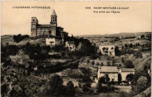 CPA L'Auvergne Pittoresque St-NECTAIRE-le-HAUT - vue prise sur l'Église (409303)