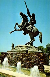 Oklahoma Oklahoma City National Cowboy Hall Of Fame Buffalo Bill Statue